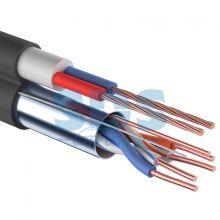 Мульти-кабель FTP 2PR 24AWG CAT5e + 2х0.75мм., 200м., черный, OUTDOOR REXANT