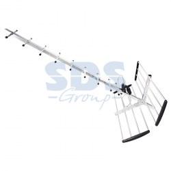 Внешняя антенна UHF для цифрового телевидения DVB-T2 470-862 МГц. REXANT