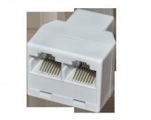 Компьютерный двойник (гнездо - 2 гнезда) 8Р-8С REXANT