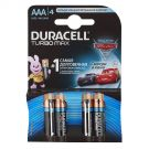 "Алкалиновая батарейка AAA/LR03 ""Duracell Turbo Max"" 1.5v 4 шт."